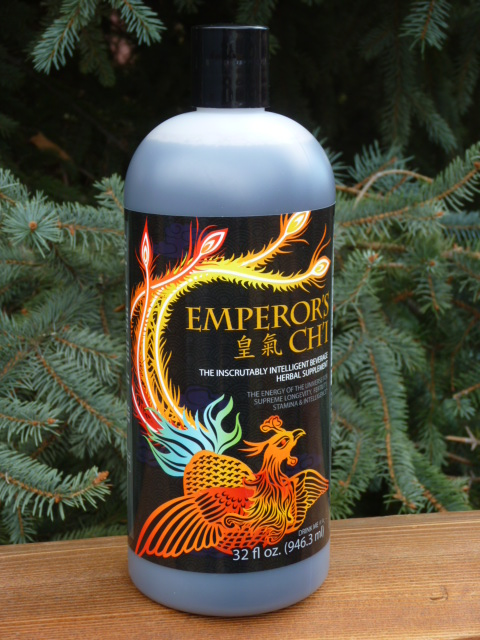 an image of the new Emperor's Ch'i bottle and label